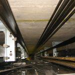 installazione in piccoli spazi di ascensore mrl vano in cemento armato