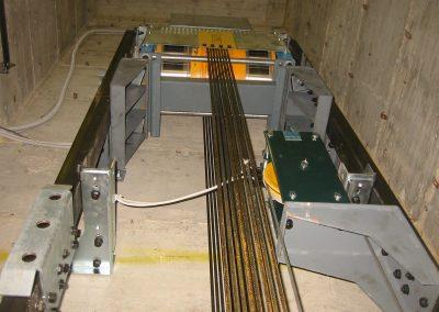 motore ascensore mrl