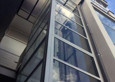 Piattaforma elevatrice per edificio condominiale