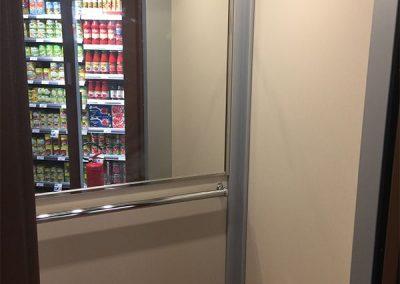 piattaforma elevatrice per supermercato cabina