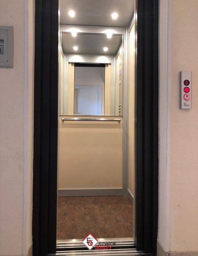 modernizzazione interni ascensore condominio