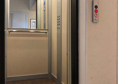 modernizzazione porte ascensore condominio