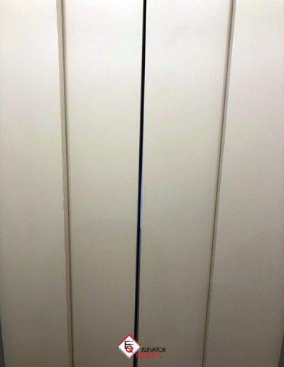 sostituzione porte a battente ascensore con porte automatiche