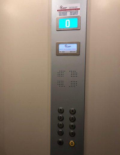 sostituzione pulsantiera cabina ascensore