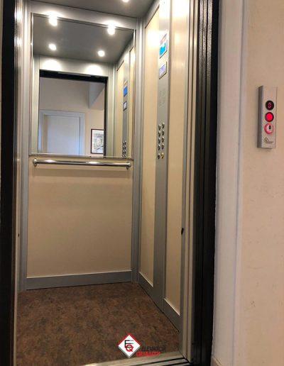 trasformazione porte a battente ascensore in porte automatiche
