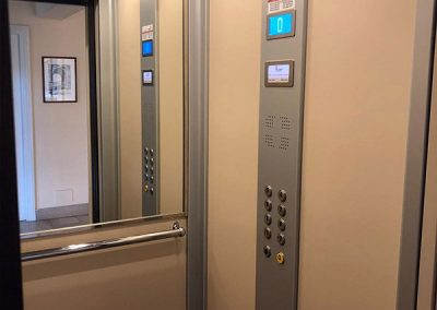 trasformazione vecchio ascensore cabina