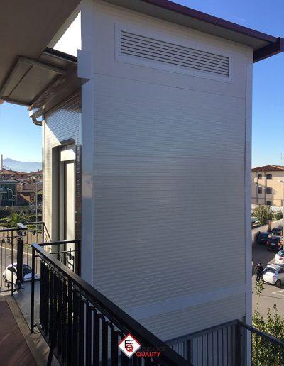 pannelli per isolamento termico struttura esterna per montalettighe