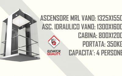 Dimensioni ascensore: dimensioni minime vano e cabina
