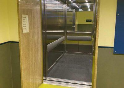Montalettighe ascensore idraulico ospedale oftalmico