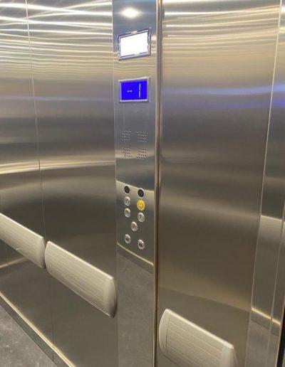 Montalettighe ascensore idraulico pulsantiera cabina