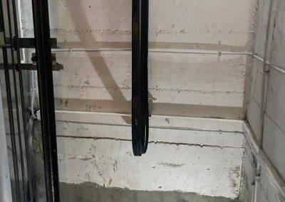 Montalettighe ascensore idraulico vano