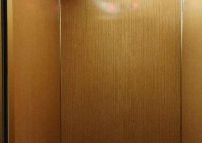 interno ascensore a fune da sostituire