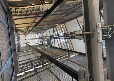 modernizzazione ascensore a filo