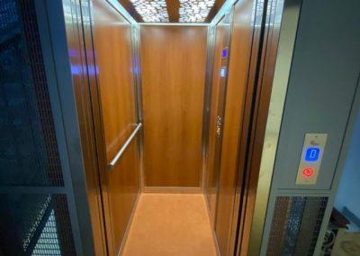 Sostituzione ascensore a fune