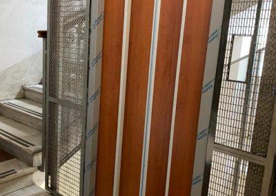 nuovo ascensore in vecchio vano