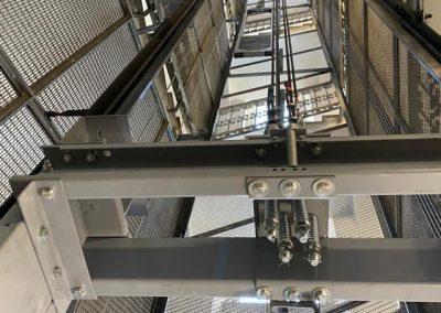 sostituzione ascensore in vano a rete