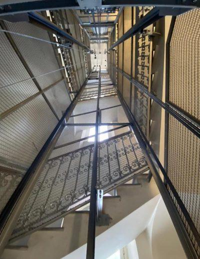 sostituzione ascensore senza toccare il vano