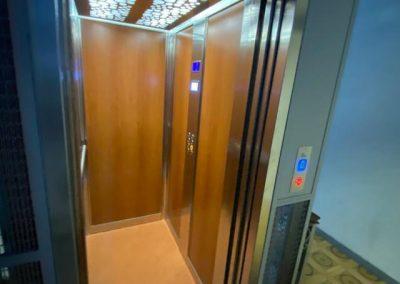 sostituzione completa ascensore a fune