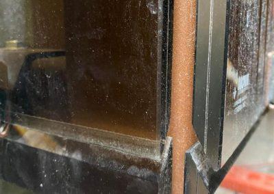Piattaforma elevatrice a fune struttura in vetro esterno