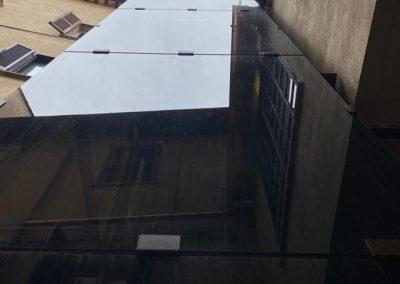 vano Piattaforma elevatrice a fune struttura in vetro
